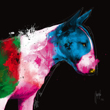 Bull Pop Prints by Patrice Murciano