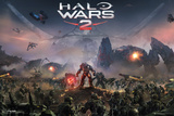 Halo Wars 2- Key Art Stampe