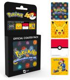 Pokemon - Mix Coaster Set Drikkebrikker
