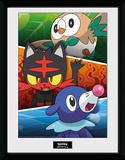 Pokemon - Alola Partners Stampa del collezionista