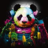Panda Samourai Poster af Patrice Murciano