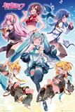 Hatsune Miku- Group Poster