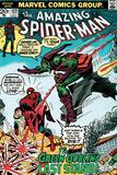 Marvel Comics Retro: The Amazing Spider-Man Comic Book Cover No122  the Green Goblin's Last Stand!