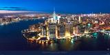 New York, downtown by night Plakater av Philip Plisson