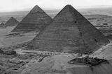 Egyptian Pyramids, 1930s Photographic Print by  Süddeutsche Zeitung Photo