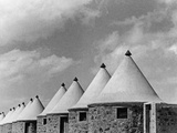 Huts for Workers at the Suez Canal, 1939 Photographic Print by Scherl Süddeutsche Zeitung Photo