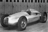 """Auto-Union Race Car """"Type D"""", 1938 Fotografisk trykk av Scherl Süddeutsche Zeitung Photo"""