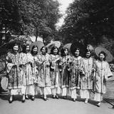 Beauty Contest in China, 1930 Impressão fotográfica por  Süddeutsche Zeitung Photo