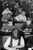 Pupils in Karelia, 1930s Photographic Print by Scherl Süddeutsche Zeitung Photo