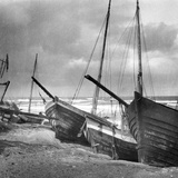 Fishing Boats in Sambia, 1924 Photographic Print by  Süddeutsche Zeitung Photo