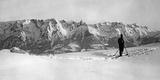 Skier in the Salzburger Land, 1939 Fotografisk trykk av Scherl Süddeutsche Zeitung Photo