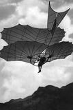 Flying Machine Built by Otto Lilienthal in Germany, 1900 Photographic Print by Scherl Süddeutsche Zeitung Photo