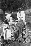 Chuvash People, 1916 Impressão fotográfica por Scherl Süddeutsche Zeitung Photo