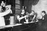 At the Bar, 20Ies Fotografisk trykk av Scherl Süddeutsche Zeitung Photo