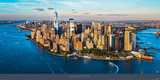New York between Sky & Sea Plakat av Philip Plisson