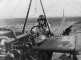 Female Aviator Nelly Beese in a Singledecker, 1911 Photographic Print by Scherl Süddeutsche Zeitung Photo