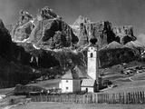 Colfosco in the Dolomites of South Tyrol, 1931. Fotografisk trykk av Scherl Süddeutsche Zeitung Photo