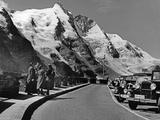 Grossglockner Road, 1935 Fotografisk trykk av  Süddeutsche Zeitung Photo