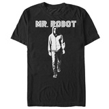 Mr. Robot- Walking In Light & Shadows T-Shirt