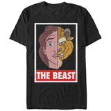 Disney: Beauty & The Beast- The Beast Stamp Shirt