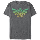 Legend Of Zelda- Distressed Giant Triforce Emblem T-Shirts