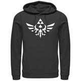 Hoodie: Legend Of Zelda- Triumphant Triforce Sweat à capuche