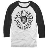 Raglan: Gas Monkey- Rally Raglans