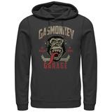 Hoodie: Gas Monkey- Framed Pullover Hoodie