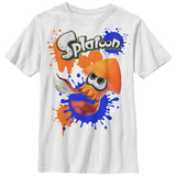 Youth: Nintendo- Splatoon- Red Inkling T-shirts