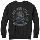 Crewneck Sweatshirt: Gas Monkey- Blood, Sweat And Beers T-Shirt
