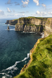 Cliffs of Moher, County Clare, Ireland Stretched Canvas Print by Chris Hill