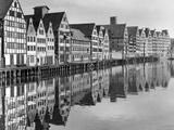 Port of Gdansk, 1939 Photographic Print by  Süddeutsche Zeitung Photo