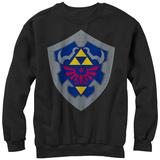 Crewneck Sweatshirt: Legend Of Zelda- Simple Shield T-Shirts