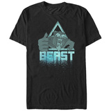 Disney: Beauty & The Beast- Roaring Beast Icon T-shirts