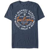 Gas Monkey- Quality Seal Emboss T-Shirt