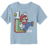 Infant: Super Marios Bros- 1 Cool Plumber T-shirt
