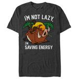 Disney: The Lion King- Pumbaa Saving Energy T-skjorte