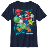 Youth: Super Marios Bros- Mario & Yoshi T-Shirt