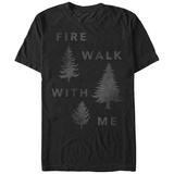 Twin Peaks- Fire Walk In The Woods T-shirts
