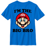 Youth: Super Marios Bros- The Big Bro T-Shirts