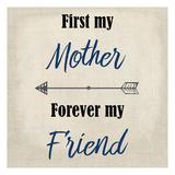 First My Mother Arte por Kimberly Allen