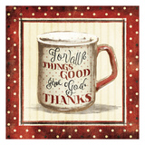 Things Good Lámina por Jace Grey