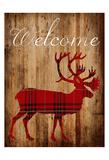 Holiday Deer 2 Póster por Sheldon Lewis