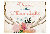 Dance In The Moonlight Poster di Kimberly Allen