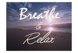 Breathe And Relax Poster di Marcus Prime