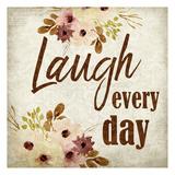Laugh every Day Láminas por Kimberly Allen