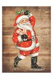 Santa Baby Poster di Sheldon Lewis