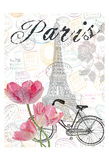 All Things Paris 2 Posters by Sheldon Lewis