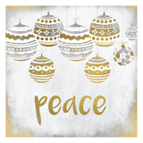 Peace Christmas Arte di Kimberly Allen