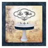 Bath 1 Sink Kunst af Victoria Brown